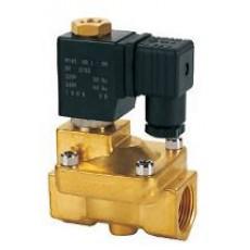 Клапан электромагнитный косвенного действия открытый RSP-40K