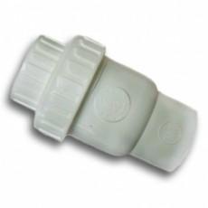 Обратный клапан ПВХ Genova КВ-КВ ½