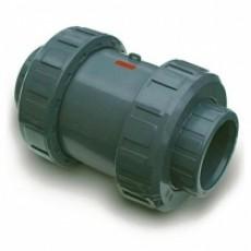 Обратный клапан пружинистый ПВХ Genova КВ-КВ 2