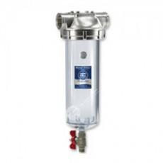 Колба с механизмом ручной промывки Aquafilter F10SS2PC-V_R