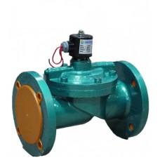 Эл.магнит. клапан фланц. ZCS-100 мембр.NBR (NC)