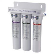 Фильтр для воды под мойку трехступенчатый быстросьёмные картриджи FP-3FF