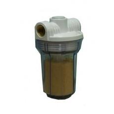"""Фильтр для воды MIGNON Gusam 2P 5"""" 1/2"""" 3 выхода (с ионообменной смолой) HI"""