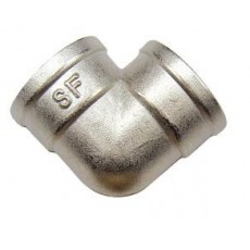 Колено 90° внутренняя резьба SF Ду 15 с никелевым покрытием