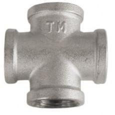 Крестовина ТМ Ду 15 с никелевым покрытием