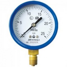 Манометр ДМ 05 050 - 01 - O2 для кислорода 0-0,6 МПа