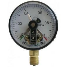 Манометр электроконтактный сигнализирующий МТ-3С 10,0....25,0 мПа