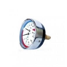 Манометр с термометром ДМТ 05 080 осевой 0-0,6 МПа 0-120 оС