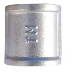 Муфта прямая ТМ Ду 15 с никелевым покрытием