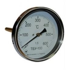 Термометр биметаллический показывающий ТБУ-100-50