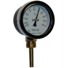 Радиальный биметаллический термометр ТБУ-63-50