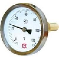 Термометры биметаллические с осевым штуцером