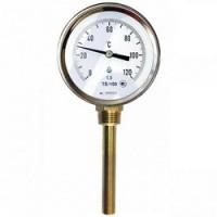 Термометры биметаллические с радиальным штуцером